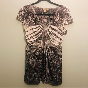 ONE WORLD LIVE AND LET LIVE BLOUSE